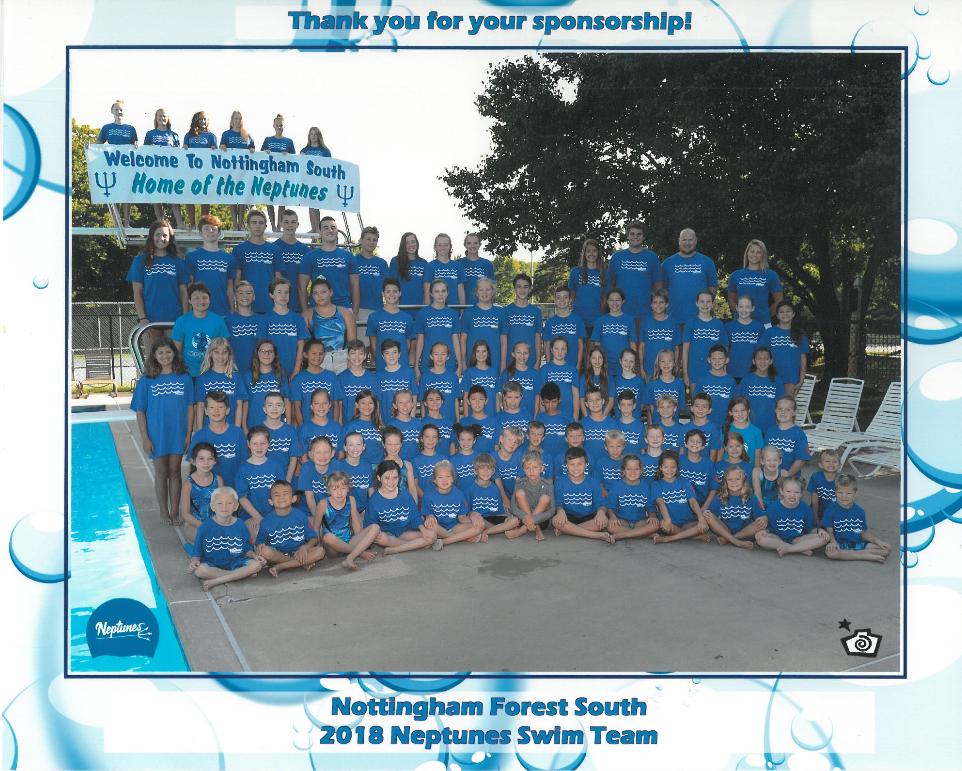Neptunes Swim Team Picture